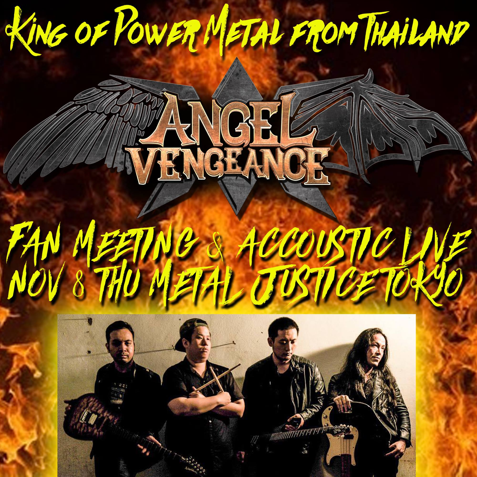 ANGEL VENGEANCE Fan Meeting & Acoustic Live